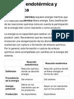 Diferencia entre reacciones endotérmicas y reacciones exotérmicas - Diferenciador