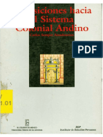 Assadourian, Carlos - Transiciones Hacia El Sistema Colonial andino