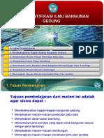 Mengidentifikasi Ilmu Bangunan Gedung 2003