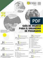 gua de ingreso para el uniandino de posgrado 2020-1
