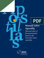 manual sobre apostilla