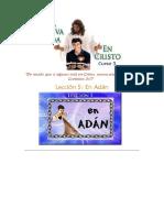 Lección 5 En Adán
