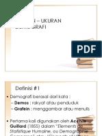 UKURAN – UKURAN DEMOGRAFI.ppt