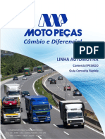 Moto Peças Catalogo Cambio e Diferencia Linha Pesada 2018