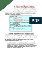 Branch Bound Algorithm1