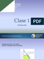 Clase 1 - Programación Lineal (primavera 2019) (1)