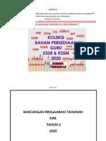 RPT 2020 Pendidikan Jasmani Tahun 2 Kssr semakan sumberpendidikan