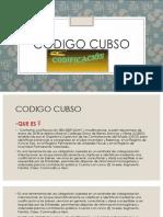 CODIGO CUBSO