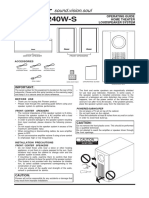 50622990OPERATING GUIDE S-FCRW240W-S