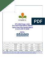Captive Power Plant Operating Manual.docx