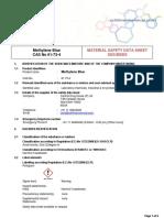 Azul de metileno-MSDS