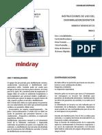 313797375 Desfibrilador Beneheart d3 Manual Guia