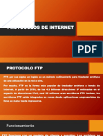 Protocolos ftp, smtp,http
