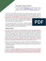 Case Analysis - China's Inter La Ken