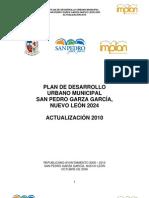 Plan de Desarrollo Urbano Nuevo Leon 2010