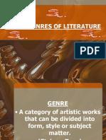 MAJOR GENRES OF LITERATURE