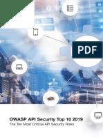 OWASP API Security Top 10 (2019)