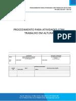 PR-SMS-LGA-007 - REV-00 - PROCEDIMENTO PARA TRABALHO EM ALTURA