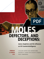 Moles, defectors and deceptions - James Angleton and His Influence on US Counterintelligence (29.03.2012)
