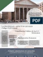 Influencia D. Romano @ D. Propiedad Mexicano SCRIBD- Roberto Arriola García