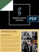 Benedicanta Proposal Accapella & Acoustic- Panen Raya Nusantara