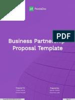 Business Partnership Proposal Template