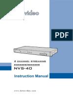 NVS-40_E1_A5_EN operaction manuval