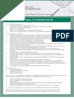 Housekeeping Supervisor (5)