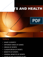 Discuss the nature of sports