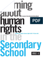 Human Rights in the Secondary School