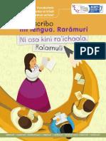 Vocabulario Raramuri
