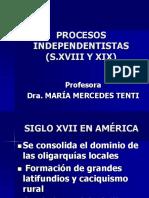 Procesos independentistas América I UNLAR