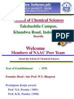 NAAC PEER Team PPT Chemistry