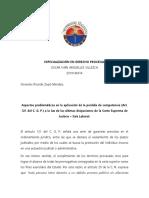 Especialización Ensayo Ricardo Zopó