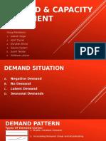 Demand & Capacity Alligment