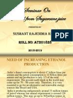 Ethanol from Sugarcane juice