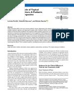 Topical Calcineurin Inhibitors