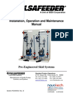 Pulsafeeder Pre-Engineered Systems Manual