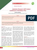 CPD-Peranan Antioksidan Koenzim Q10 dalam Tatalaksana Infertilitas Pria