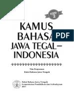 Kamus Bahasa Jawa Tegal