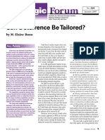 Can Deterrence Be Tailored