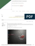 Asus ROG G75VW Audio Driver for Windows 10 Quailty configuration