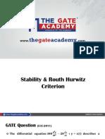 3 Stability and RH Criteria