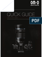 Omd E-m1 Mark II Quick Guide En