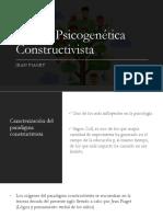 Teoría Psicogenética Constructivista
