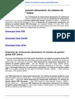 empresas-de-restauracion-alimentaria-un-sistema-de-gestion-global-8479784601