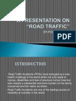presentation on road traffic (POOJA)