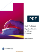 Back To Basics Hype Free Principles For Software Developers