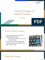 online therapy vs