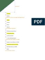 Simple Quiz Based on Computer Basics1